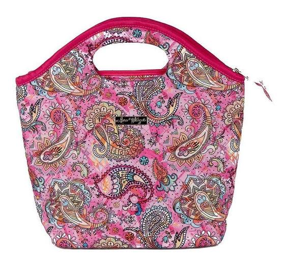 Bolsa Handbag Tecido Feminina Mão Forro Impermeável Prática
