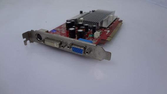 Placa De Vídeo Radeon X300 Se 256mb Pci-e Tv Dvi Vga
