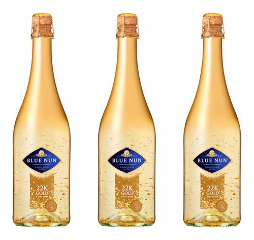 Vino Espumante Blue Nun Gold Edition 750 Ml Alemán