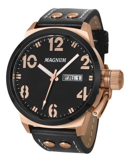 Relógio Masculino Magnum Analógico Ma32783p Rosê