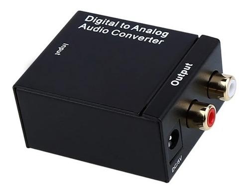Conversor Tos Link Optico A Rca