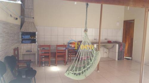 Imagem 1 de 22 de Casa Com 4 Dormitórios À Venda, 180 M² Por R$ 430.000,00 - Loteamento Aída Haddad Jafet - Itatiba/sp - Ca0671
