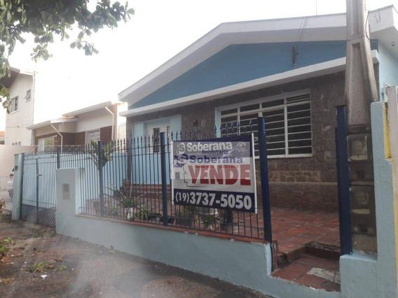 Casa Com 4 Dormitórios À Venda, 153 M² Por R$ 480.000,00 - Vila Nova - Campinas/sp - Ca3375