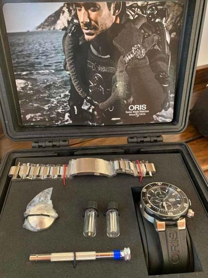 Relogio Oris Pro Diver Limited Edition Titanium 1000m
