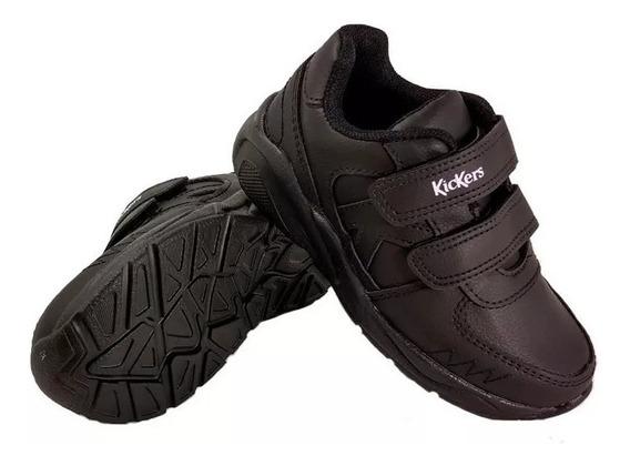 Zapatillas Kickers Niños Miles Colegial Eezap