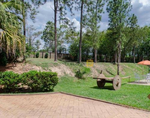 Chácara Com 3 Dormitórios À Venda, 6673 M² Por R$ 2.000.000,00 - Iate Clube De Campinas - Americana/sp - Ch0017