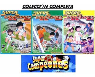 Super Campeones Las Tres Temporadas Completas Dvd