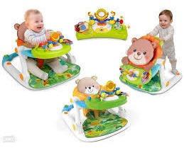 Andador, Caminador, Mesa Juegos Musical Bebé Winfun 3 En 1