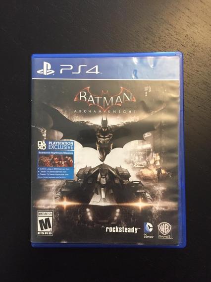 Jogo Ps4 Batman Arkham Knight (midia Fisica)