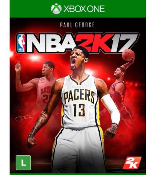 Nba 2k17 Xbox One Lacrado Novo Rj