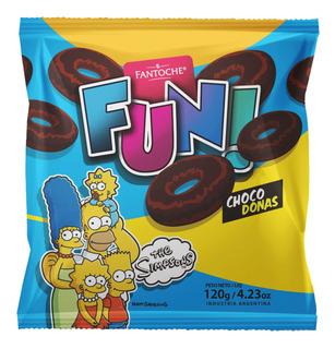 Galletitas Fun Choco Donas Los Simpsons Fantoche 120g