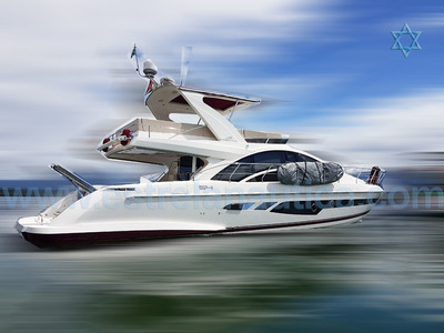 Lancha Intermarine 54 Barco Iate N Phantom Azimut Ferretti