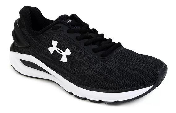 Tênis Under Armour Charged Carbon - Masculino - Preto/branco