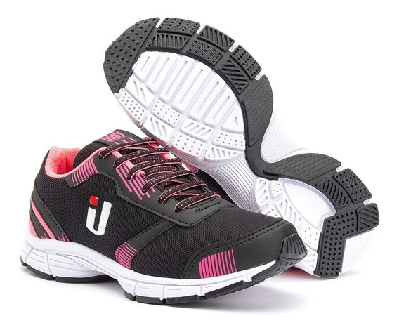 Tênis Caminhada Academia Leve Confortável Feminino Masculino