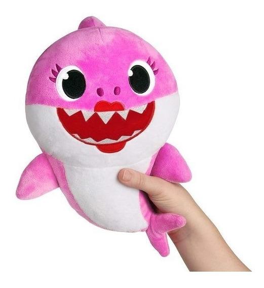Baby Shark Pelúcia 30cm Antialergico Pronta Entrega