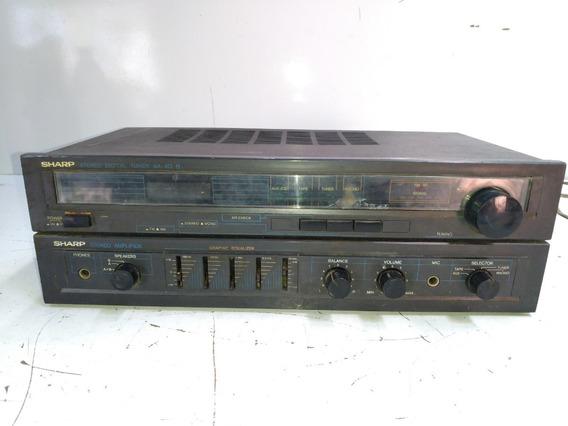 Receiver Amplificador Sharp Tuner Sa-50b