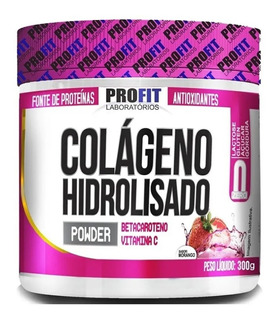Colágeno Hidrolisado 300g - Betacaroteno/vitamina C - Profit