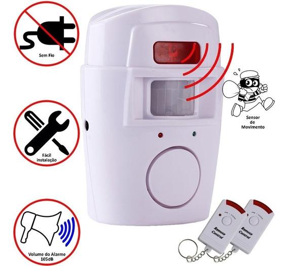 Alarme Sensor De Presença Residencial Chacara Praia Comércio