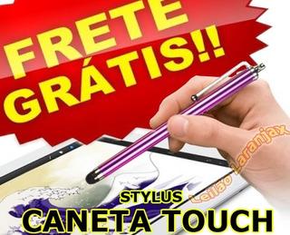 Lote 4 Peças, Caneta Touch Tablet Celular iPad iPhone Galaxy