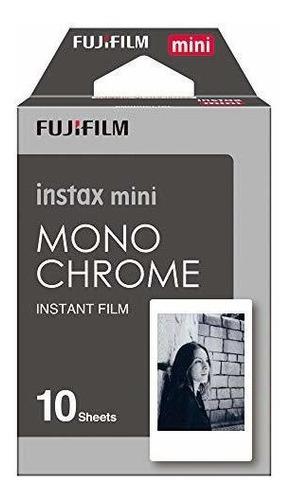 Imagen 1 de 4 de Fujifilm Instax Mini Pelicula Monocroma - 10 Exposiciones