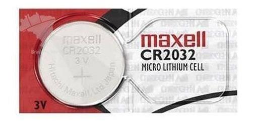 10 Pilha 2032 Bateria Moeda 3v Maxcell