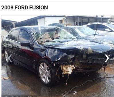 (2) Sucata Ford Fusion, Sel 2.3, 16v, 2008 Retirada De Peças