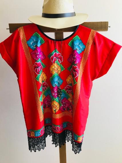Blusa Diseño Istmo, Mexicana