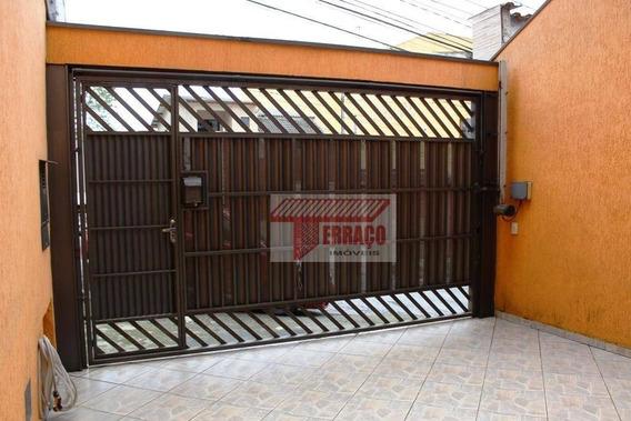 Sobrado Com 3 Dormitórios À Venda, 189 M² Por R$ 540.000 - Parque São Vicente - Mauá/sp - So1064