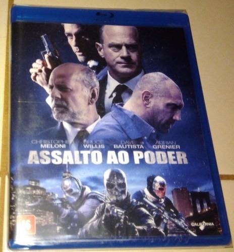 Blu-ray Assalto Ao Poder (lacrado)