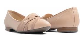 Zapatos De Pizo Flats Para Dama Color Beige Y Negro | Erez