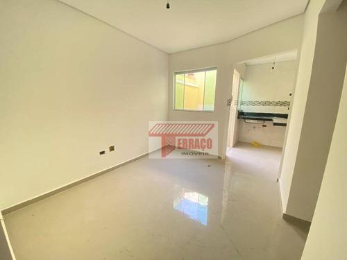 Imagem 1 de 9 de Sobrado Com 2 Dormitórios À Venda, 80 M² Por R$ 273.000 - Vila Príncipe De Gales - Santo André/sp - So1116