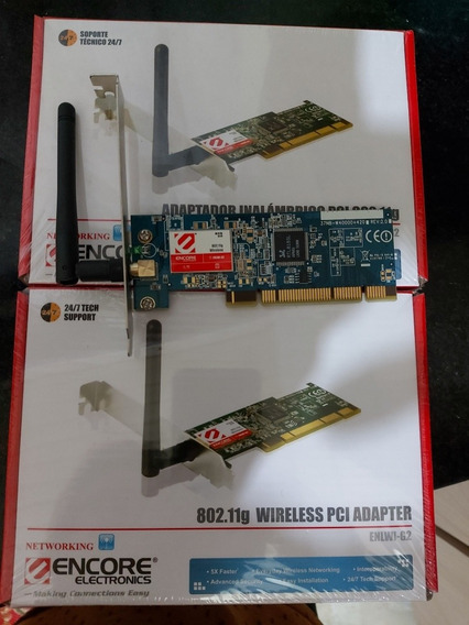 Wireless Adaptador Pci Encore Enlwi-n3 150mbps