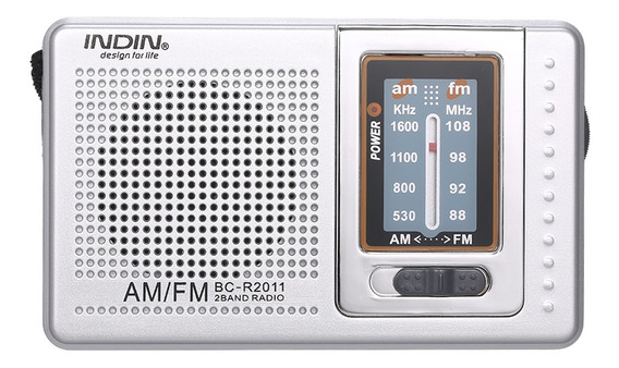 Indin Bc-r2011 Mini Am Fm Rádio 2 Banda Receptor De Rádio