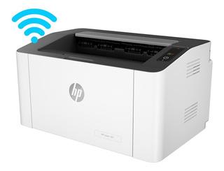 Impresora Laser Monofuncion Hp 107w Wifi Ex M102 M15 Gtia