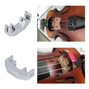 Surdina Para Violino E Viola De Metal
