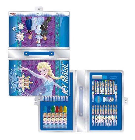 Frozen Set De Arte 42 Piezas Fa258 C/licencia Original