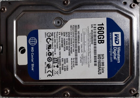 Hd Desktop Western Digital 160 Gb