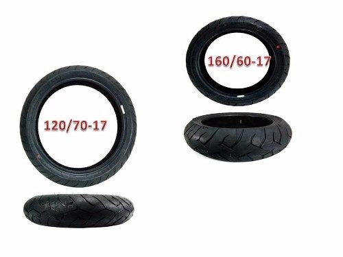# Pneu Pirelli Diablo 160/60-17 + 120/70-17 Cb500x (par)