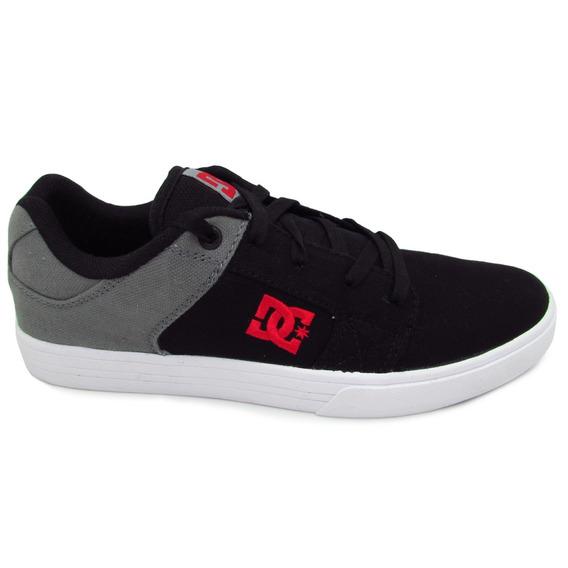 Tenis Dc Shoes Method Tx Mx Adys100397 Xksr Black Grey Red