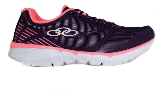 Tênis Olympikus Mist 2 Feminino Confortável Caminhada Leve