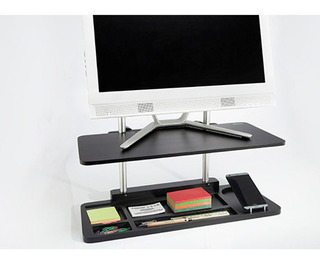 Soporte Para Monitor Y Organizador - 2 En 1 Altura Graduable