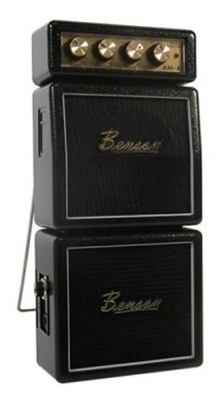 Mini Amplificador Benson Para Guitarra Am-4b Preto
