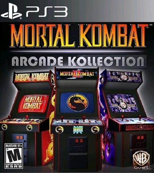 Mortal Kombat Arcade Kollection Ps3 Jogos Playstation 3