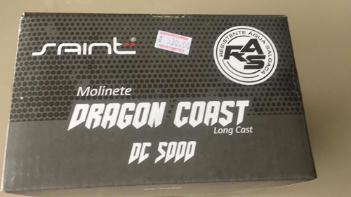 Molinete Dragon Coast 5000