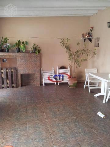 Sobrado  4 Dormitórios À Venda, Parque Terra Nova, São Bernardo Do Campo. - So0161
