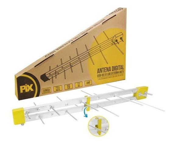 Antena Externa Digital 4k Full Hd Uhf Hdtv