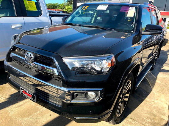 Toyota 4runner Limited Negra 2015