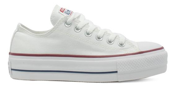 Tênis Converse Chuck Taylor All Star Plataforma Branco