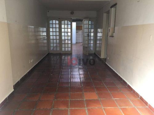 Sobrado Com 4 Quartos  161 M² Por R$ 1.530.000 - Mirandópolis - São Paulo/sp - So0684