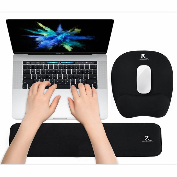 Ergonomic Keyboard Wrist Rest Pad And Mouse Pad Hand Suppor